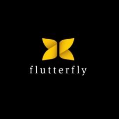 Flutterfly Logo Design