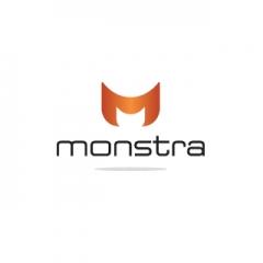 Monstra Logo Design