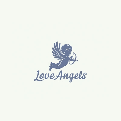 Love Angels Logo Logo Design Gallery Inspiration Logomix