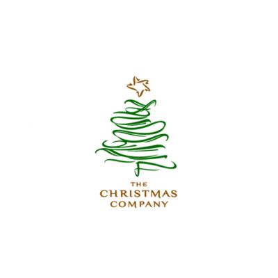 Black And Yellow Christmas Tree
