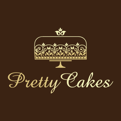 Pretty Cakes Bakery Logo Design Gallery Inspiration